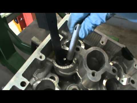 Cylinder Head Dis Assembly & Tear Down on a Subaru WRX