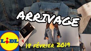 ARRIVAGE LIDL - 18 FEVRIER 2019