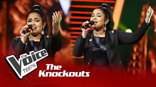 Lihini Minoda   Manaranjana Darshaneeya Lanka  Knockouts   The Voice Teens Sri Lanka