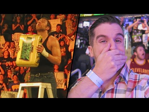 WWE MONEY IN THE BANK 2016 LIVE REACTION!! AMBROSE CASHES IN!!