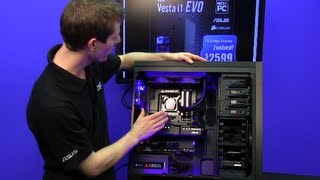 NCIXPC Vesta i1 EVO Ivy Bridge Flagship Carbon Fiber System  NCIX Tech Tips