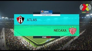 PES 2018 | Atlas vs Necaxa | Jornada 7 Liga Mx | Gameplay PC