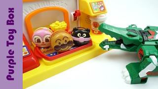 Angry Alligator Visit Hamburger Shop Animal Transformer Robot Toys