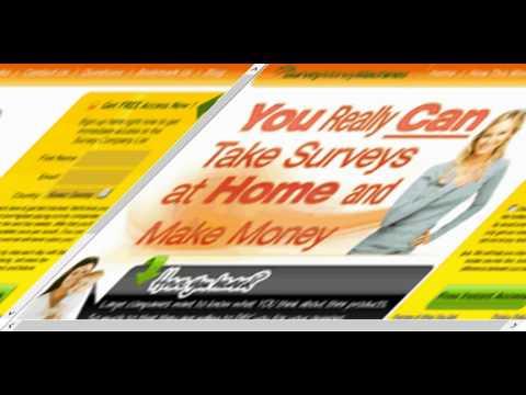 survey money machine scam