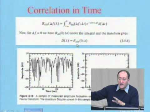 ECE538: Lecture 3: Characteristics of Radio Prop: Part 5 of 5: Classical WSSUS Modeling (2005)