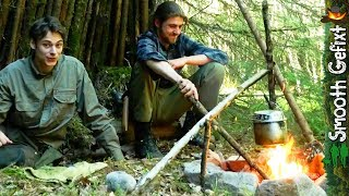 Bushcraft Camp on a Summerday  -  Natural Shelter, Wild Edibles, Upcoming trips…