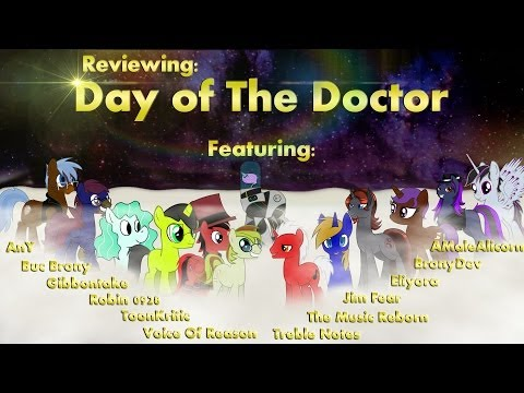 Reviewing: Day Of The Doctor