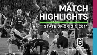 NRL 2011 State of Origin Game III Highlights: Maroons V Blues