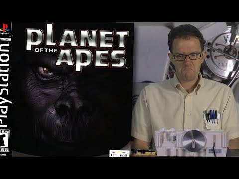 Planet of the Apes (Sony Playstation) Angry Video Game Nerd: Episode 146