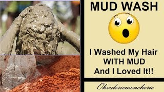 👍GUYS! I Washed My Hair With ACTUAL DIRT!👍 And It Was AMAZING!! Moroccan Red Clay