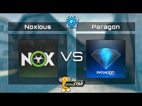 CSGO CGi Group B - Noxious vs. Paragon eSports Map 2 [Cache]
