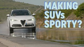Is it possible to make SUVs sporty using just tyres? | DriveTribe Discovers – Ep.2