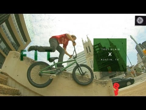 Troy Blair Don't Do Flairs: BMX Street In Austin And California
