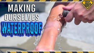 Making Our Skin Hydrophobic