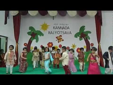 Children of Trained Brain Pre-School (TBPS) performing for Pata...