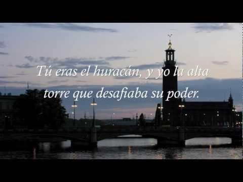 RIMA XLI (41) - TU ERAS EL HURACAN - Gustavo Adolfo Becquer