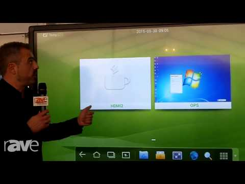 COMM-TEC 15: Newline Interactive Demos Its 4K Trutouch Serie 84″ Touchscreen (DE)