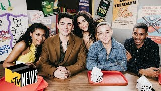 'On My Block' Cast on Learning From Their Characters | MTV News