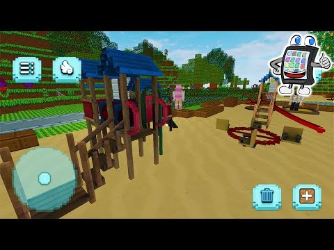 MINECRAFT Spielplatz Bauen - Minecraft hauser bauen app