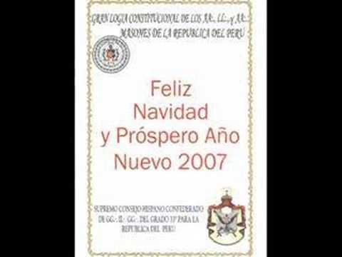 Saludo de Navidad del G:.M:. Julio Carlos Pacheco Giron