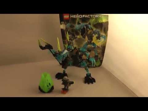 LEGO Hero Factory 2014 Review: CRYSTAL BEAST VS. Bulk 44026!
