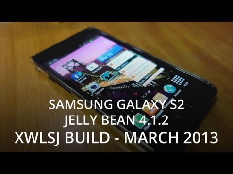 Samsung Galaxy S2 i9100 Jelly Bean 4.1.2 (XWLSJ) Nordic Firmware - March 2013