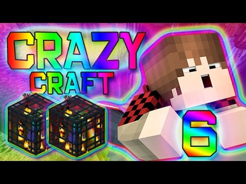 Minecraft: Crazy Craft 2.0 Modded Survival w/Mitch! Ep. 6 - Mob Spawner Prank!