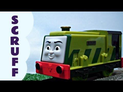 Trackmaster SCRUFF Thomas The Train Plarail Compatible Kids Toy Train Set Thomas The Tank Engine
