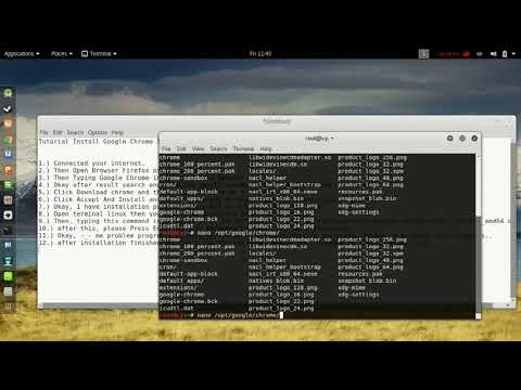 Tutorial Install Google Chrome In Kali Linux 2017