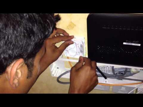 Qtel Fibre Optic Installation - 100 Mbps