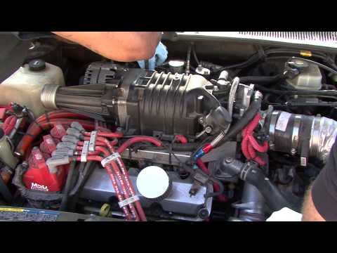93 Bonneville SSEI Supercharger removal