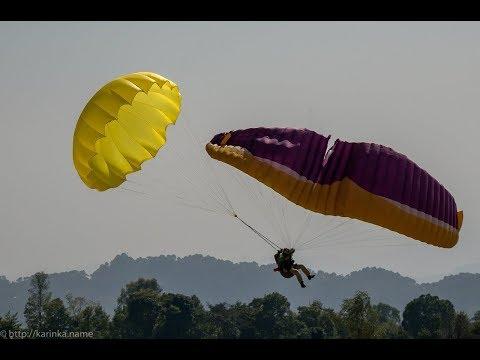 Падения на параплане (Paragliding craSH)3