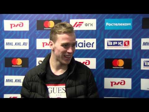 Максим Афанасьев и Николай Коваленко о выходе в финал Кубка Харламова