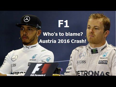 THE VERDICT! Hamilton v Rosberg Crash Austria 2016