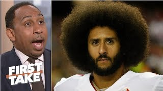 Stephen A. wants Kaepernick to release details of his settlement with NFL | First Take