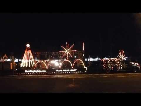 Light Em Up - Staging Area - 2013 Redding Christmas Parade