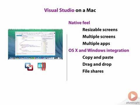 Visual Studio Development on a Mac