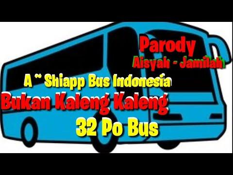 Sandrina Feat Iva Lola| Aisyah - Jamilah | Parody Po Bus Indonesia | Hai Tubers