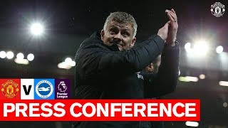 Manager's Press Conference | United v Brighton | Premier League