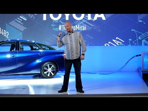 Toyota Releases Hydrogen Fuel Cell Patents Royalty-Free @ CES 2015!