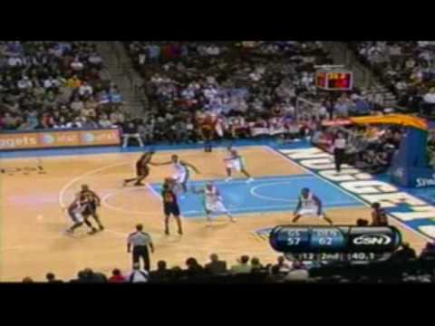 Stephen Curry - 26 points @ Denver (1/5/2010) Video