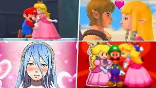 Evolution of Nintendo Love Moments (1987 - 2019)