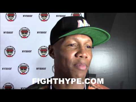 ZAB JUDAH RECALLS FIGHTING FLOYD MAYWEATHER AND WHAT MAKES HIS DEFENSE SO GREAT