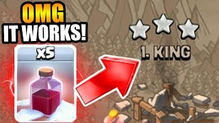 THIS IS HOW YOU USE THE SANTA SPELL!! - GROUND BREAKING UPDATE GAME PLAY IN CLASH OF CLANS!