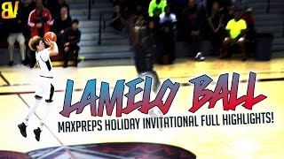 LaMelo Ball Shot From WHEREVER He Wanted! HALFCOURT SHOT + CRAZY DEEP 3'S In Palm Springs!