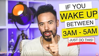 Do You Often Wake Up Between 3 AM and 5 AM? Here Is What It Means..