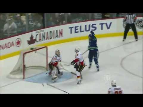 Daniel Sedin 6-2 Beautiful Hat-trick Goal Assisted by Henrik Sedin [Goal of the Year] Video