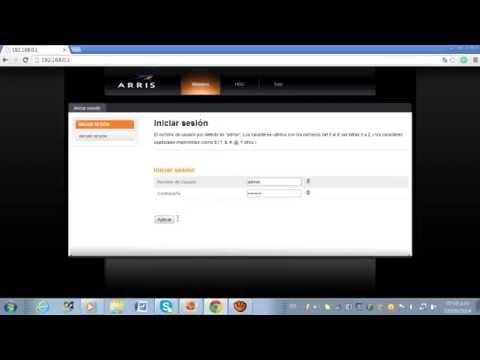 Como Configurar Router Arris 2014 de Claro