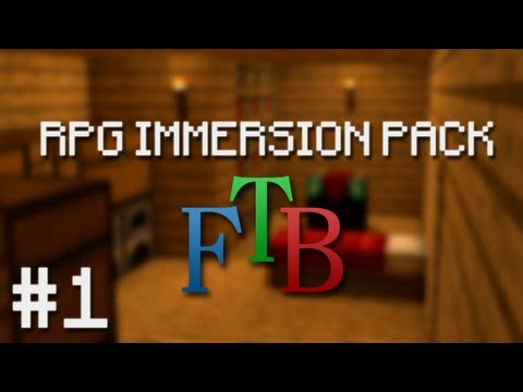 Minecraft: RPG Immersion Pack - Episode 1