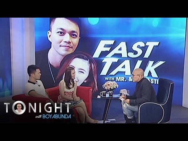 TWBA: Fast talk with Mr. and Ms. Pastillas